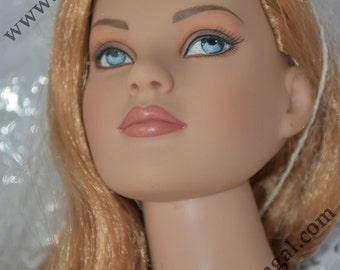 "Tonner American Model 22"" Vinyl doll, Basic Strawberry Blond for sewing model"