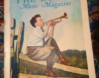Vintage 1931 The Etude Music Magazine, Musical Junior Etude