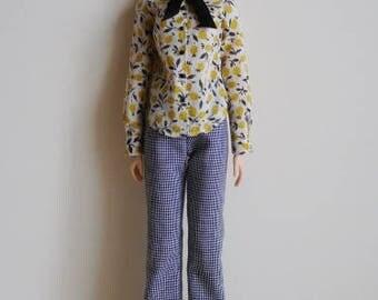 Wide pants for momoko doll