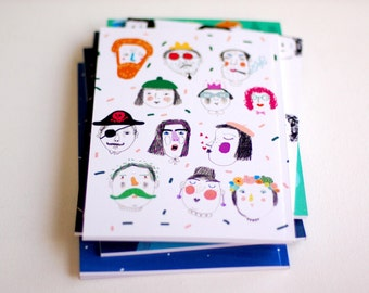 happy Notebook with blank pages