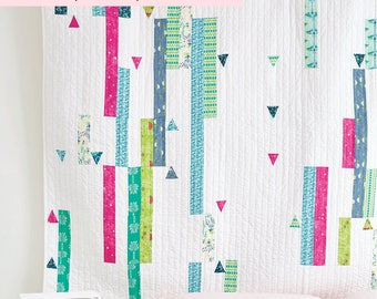 Quilt PDF pattern download  Color Splash