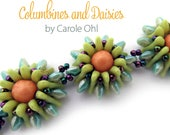 Columbines and Daisies Beadweaving Tutorial by Carole Ohl