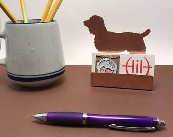 Boykin Spaniel Business Card Holder, Desk Accessory Spaniel gift for dog lover Boykin items dog gifts