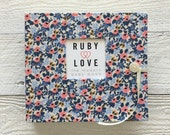 Rifle Paper Co. Rosa Floral Periwinkle | BABY BOOK