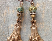 French Royalty- French Lion's Paw Earrings