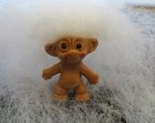 "OOAK 1"" Imperial Mini Troll Doll Tiny Adorable Retro Vintage New Long Icelandic Mohair"