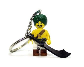 Desert Warrior Keychain - made from New LEGO ® Minifigure