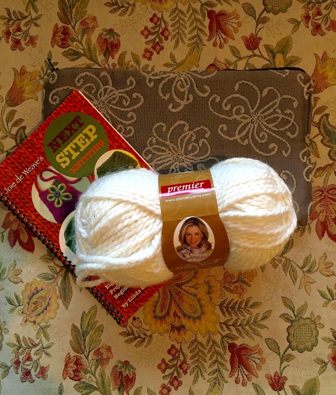 Beginner Knitting Kits Canada : Beginner knitting kit joie de weave s next step