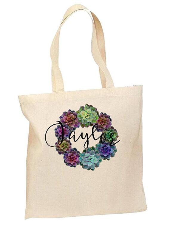 Bridesmaid Bags Personalized, Bridesmaid Gift, Custom Tote Bags, Monogrammed Tote Bag, Bridesmaid Tote Bags, Bridesmaid Burlap Tote Bags