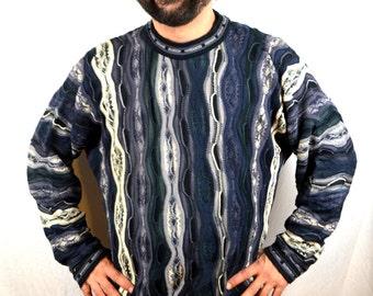 Vintage 80s Authentic COOGI  - Australia Rainbow Cosby Sweater