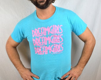 Awesome Vintage 1981 80s 1980s Dreamgirls Tshirt Tee Shirt