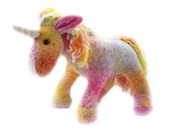 Rainbow Unicorn Stuffed Plush