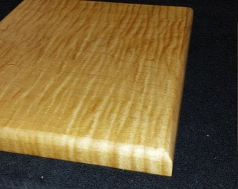 Curly Maple Wood Cutting Board - Cheese Board