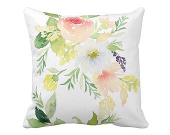 Floral Pillow Cover Spring Garden