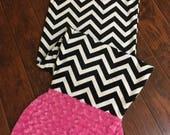 Mermaid Tail Blanket- Personalized Mermaid Tail- Mermaid Blanket