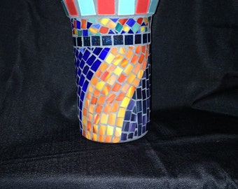 Multicolored Mosaic Wine Chiller