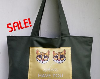 Ocelot! Ocelot! Where are you now? Phish Phan Art Tote Bag by SBMathieu