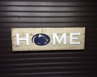 Penn State HOME plaque, sign
