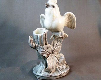 CLEARANCE Vintage Bird Spill Vase Wings Spread