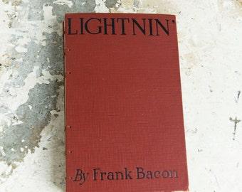 1920 LIGHTNIN' Vintage Book Journal Notebook