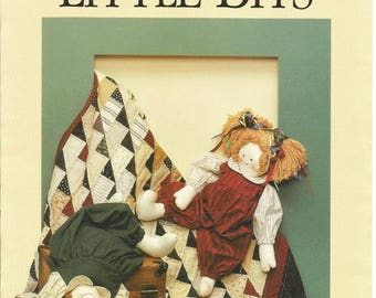 1990s Quilt Pattern Doll Pattern From Dream Spinners Vintage Quilt Pattern Vintage Doll Pattern Sewing Pattern