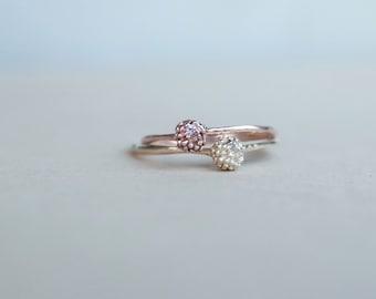 Gold + Sapphire ORIGEN seedling ring