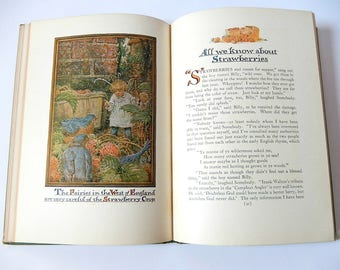 Vintage Childrens Book Really So Stories by Elizabeth Gordon Illustrated Childrens Story Book by American Artist John Rae / Collectible Book