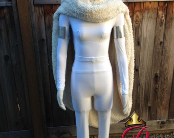 Padme Star Wars Inspired Battle Outfit and Cape Adult Custom Costume in your Size