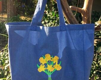 Tote Bag - Daffodils