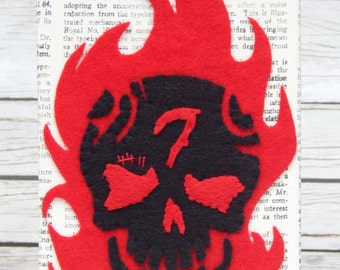 Suicide Squad Diablo Embroidered Wall Art