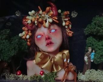 The Little Dreamer Shadow Box Doll