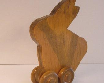 Rabbit on Wheels