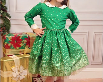 Jubilee Party Dress Sewing Pattern: Girls Dress Sewing Pattern, Baby Dress Sewing Pattern