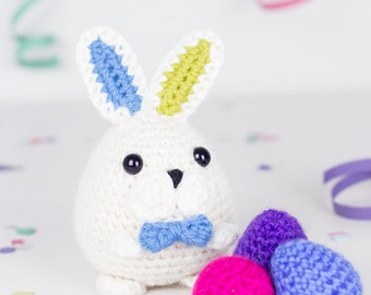 Crochet pattern - Magicus the easter Bunny by Tremendu - amigurumi crochet toy, PDF digital pattern