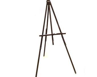 Vintage Grumbacher Wooden Tripod Art Easel #237