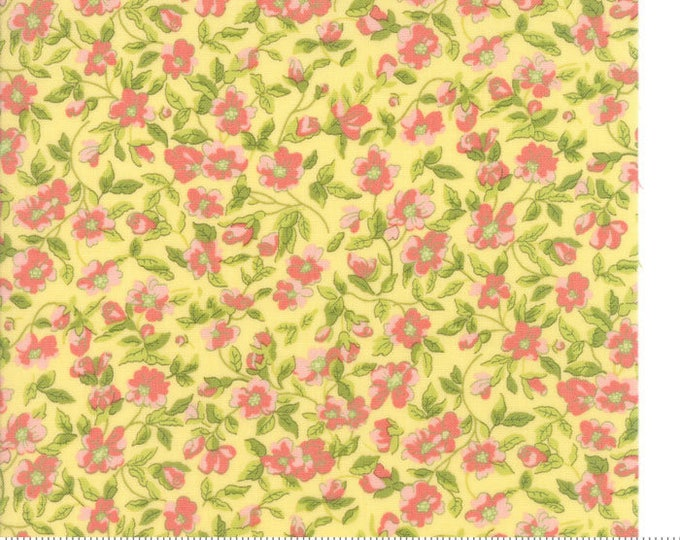 Guernsey Soft Yellow 18641 14 by Brenda Riddle moda fabrics