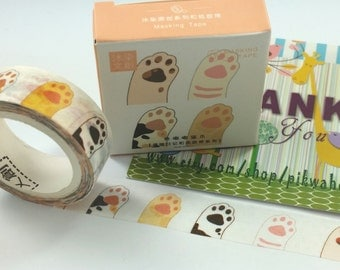Cat Paws Washi Tape (7M)