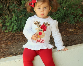 Cranberry Ruffle Leggings - Cranberry Red Ruffle Leggings - 2016 Holiday Collection knit ruffle leggings - size 6m to 8 with FREE SHIPPING