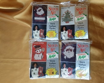 PICK ONE Distlefink Designs, Inc. Christmas Sequin Kit 33427 33421 33419 33428 *eb