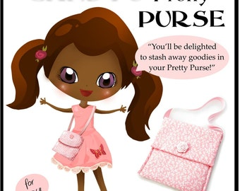 Pixie Candy's Pretty Purse Tutorial - Learn How to Sew for Kids