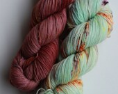 Dyed to Order {Toasted Marshmallow Kit} Hand Dyed Speckled Yarn #2