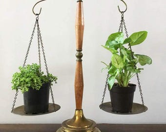 Vintage Scales of Justice with Eagle Finial