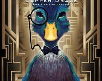 Dapper Drake - Signed Giclée Print