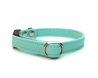Mint Breakaway Cat Collar