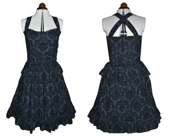 Steampunk Lolita dress  - Damask-prom dress SALE!