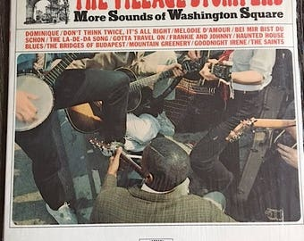 The Village Stompers Record - Vintage Jazz Vinyl Record - LN 24090 - The Village Stompers More Sounds Of Washington Square Jazz Record