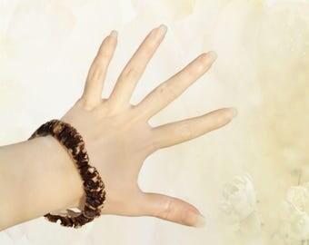 Deer Antler Bracelet, Bangle Bracelet, Natural Shape Jewel, Antler Hair Barrette, Tribal Jewelery, Natural Accessory, Handmade by MariyaArts