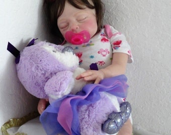 "Reborn Life Like 21 ""Baby Kaya"" - now Baby Kylie Doll - sleeping"