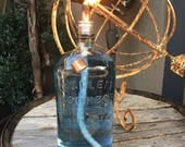 2 Wine Bottle Torch Kits with Copper Snuffers