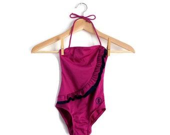 Little Girls Swimsuit, Vintage Swimsuit, Toddler Swimsuit, Girls Swimsuit, Girls Swimming Costume, Unworn Deadstock